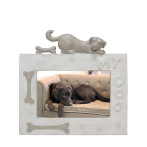Fotolijst Hond Liggend Beige