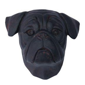 Kop Bulldog (zwart)