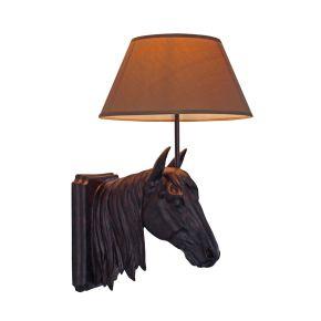 Wandlamp Paardenhoofd