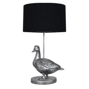 Lamp Eend Zilver