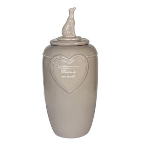 Memorial Collectie Urn Hond (L) Beige