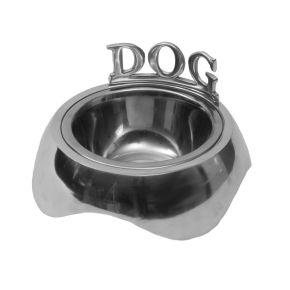 Voederbak Aluminium Dog S (tekst) S - 16 cm