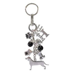 Sleutelhanger Beagle (zwart)