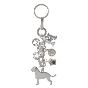 Sleutelhanger Labrador (zilver)