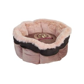 Mand rond Cute Pets Roze