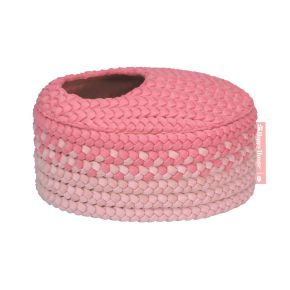 Mand ovaal `O` Collectie Roze (S)