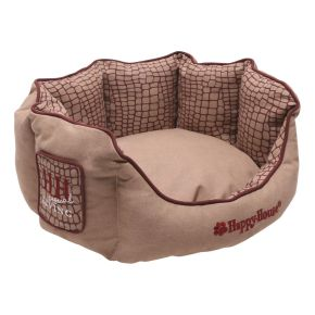 Mand rond Casual Living (S) Roze S - 46 x 46 x 21 cm