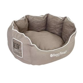 Mand rond Casual Living (S) Taupe S - 46 x 46 x 21 cm