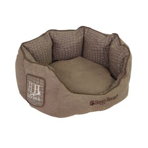Mand rond Casual Living (S) Bruin S - 46 x 46 x 21 cm