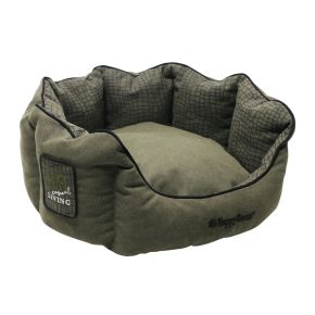 Mand rond Casual Living (S) Groen S - 46 x 46 x 21 cm