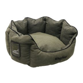 Mand rond Casual Living (M) Groen M - 64 x 60 x 26 cm