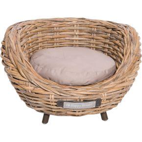 Sofa riet grof gevlochten (13 mm)