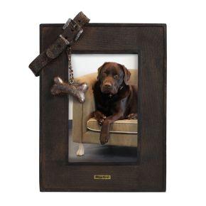 Fotolijst met Riem hond