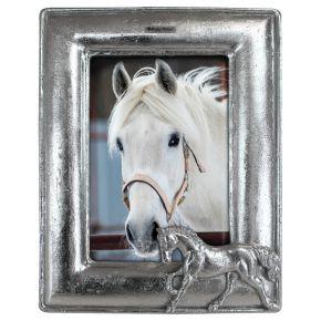 Fotolijst Paarden zilver