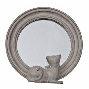 Spiegel met Kat