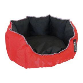 Mand rond Dog Lifestyle (S) Rood / Zwart