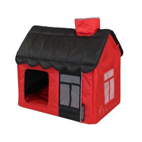 Villa Dog Lifestyle (S) Rood / Zwart