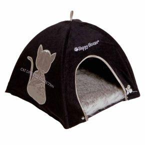 Cat Lifestyle tent Zwart