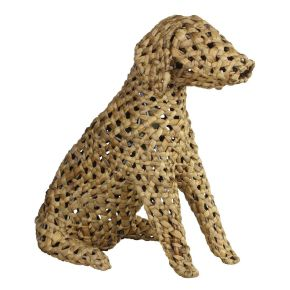 Lamp Hond Hyacinth (M) Natural
